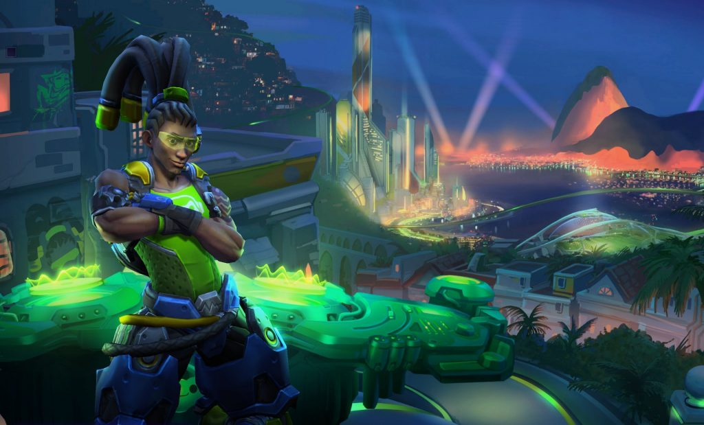 HotS Lucio Artwork