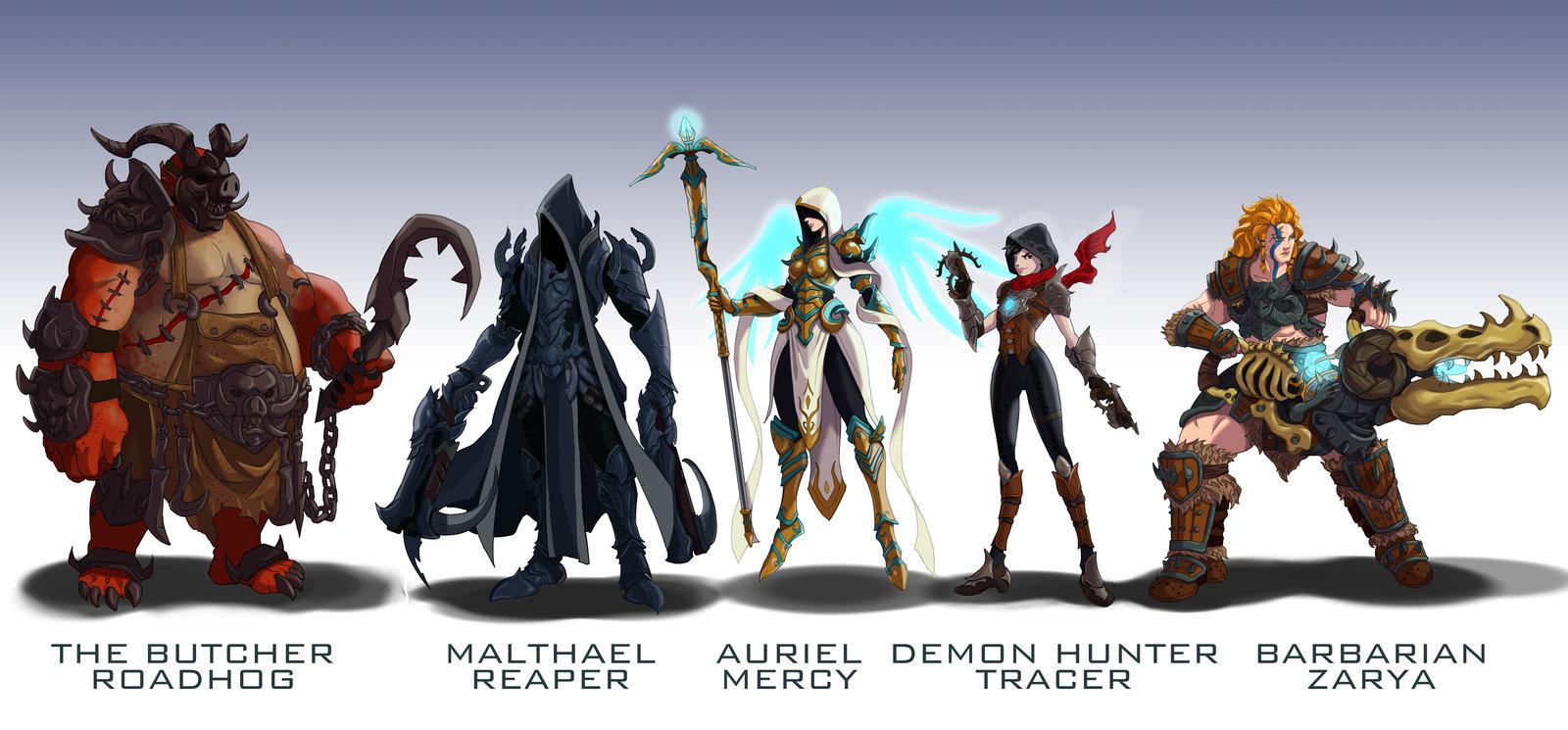 Overwatch Diablo Skins Wildcard24