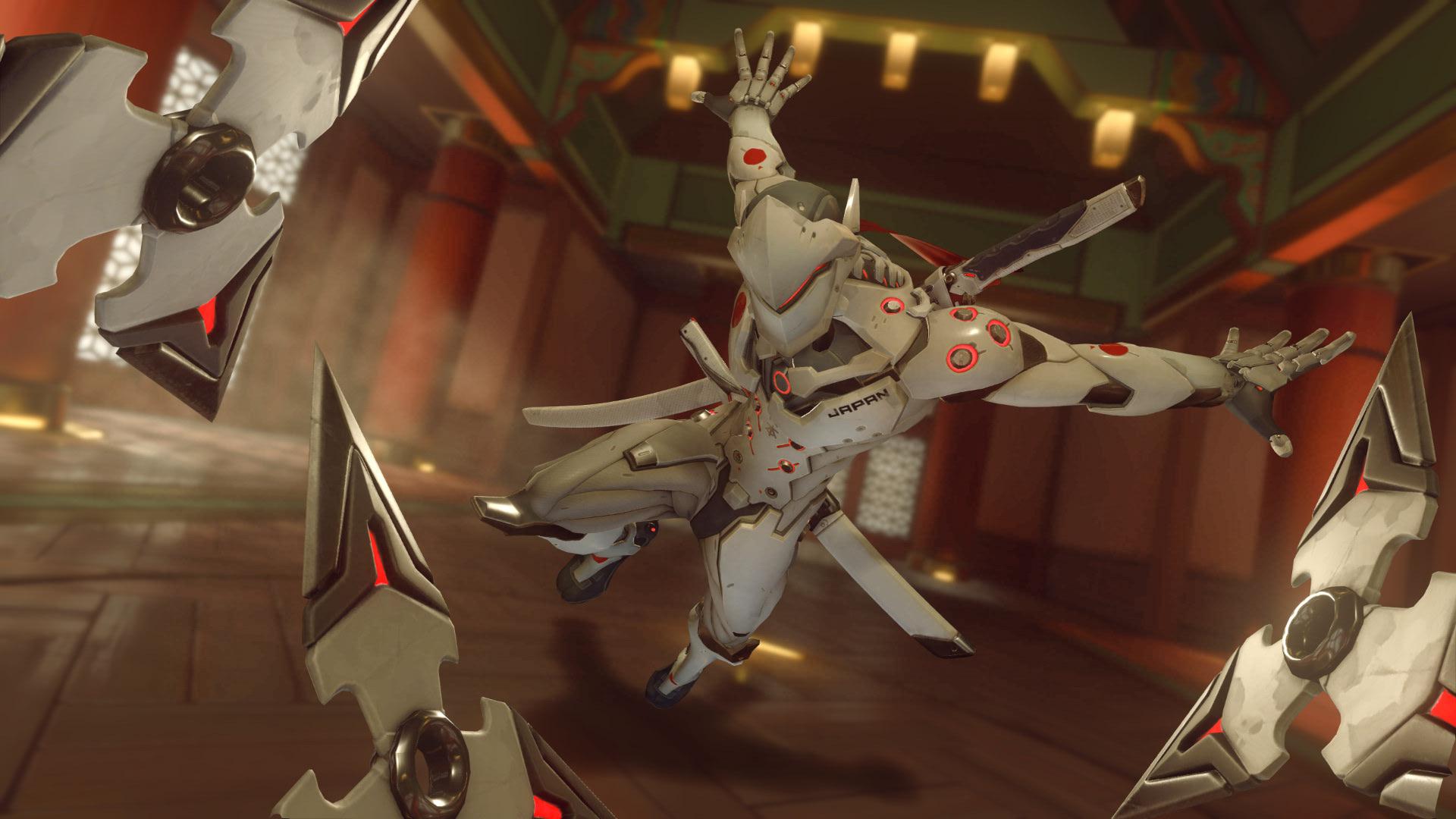 Overwatch Genji Nipon Skin Shuriken