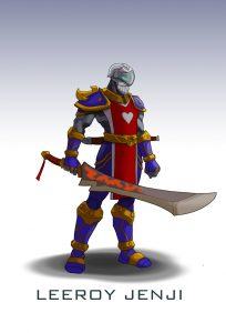Overwatch Warcraft Genji Skin Wildcard24
