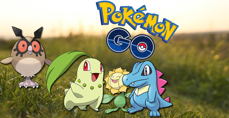 Pokemon GO 2. Generation Titel2