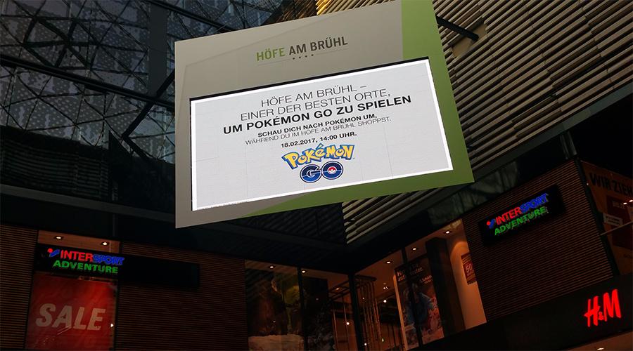 Pokemon GO Werbung Leipzig groß2