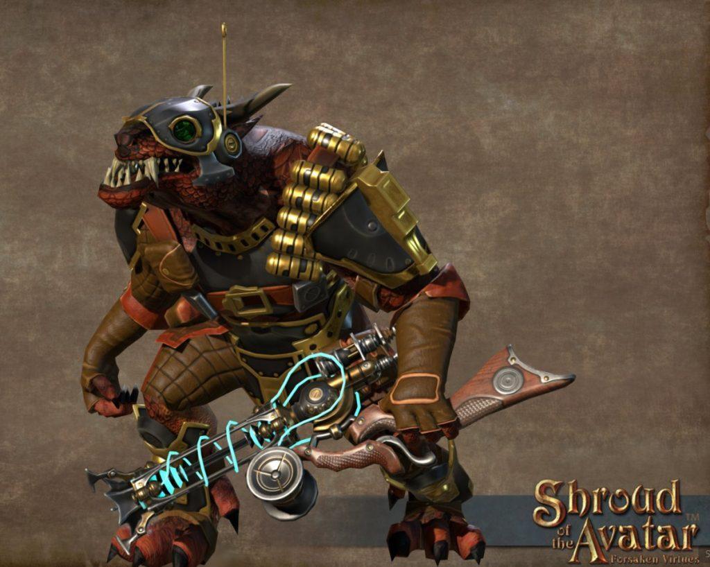 Shroud of the Avatar Kobold Gunner