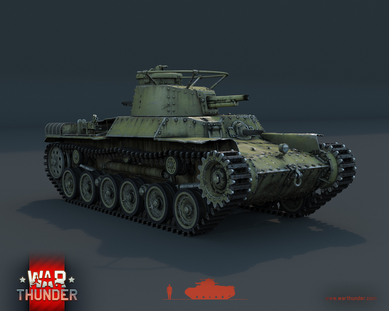 War Thunder Chi Ha