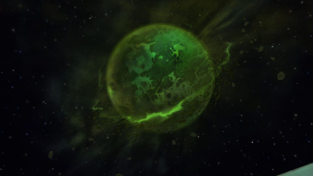 WoW Argus Planet