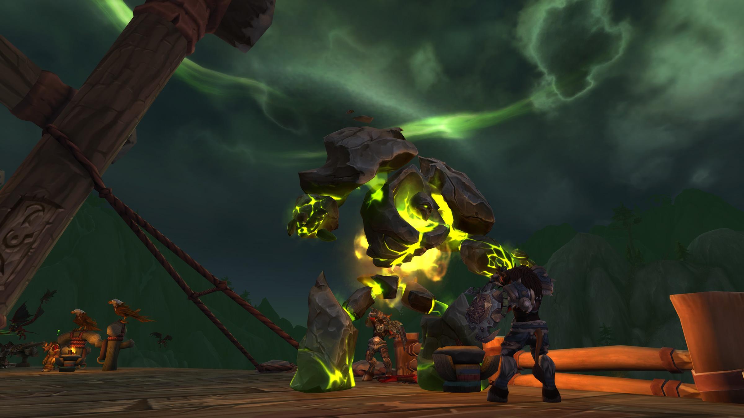 WoW Demon Invasion Thunder Totem