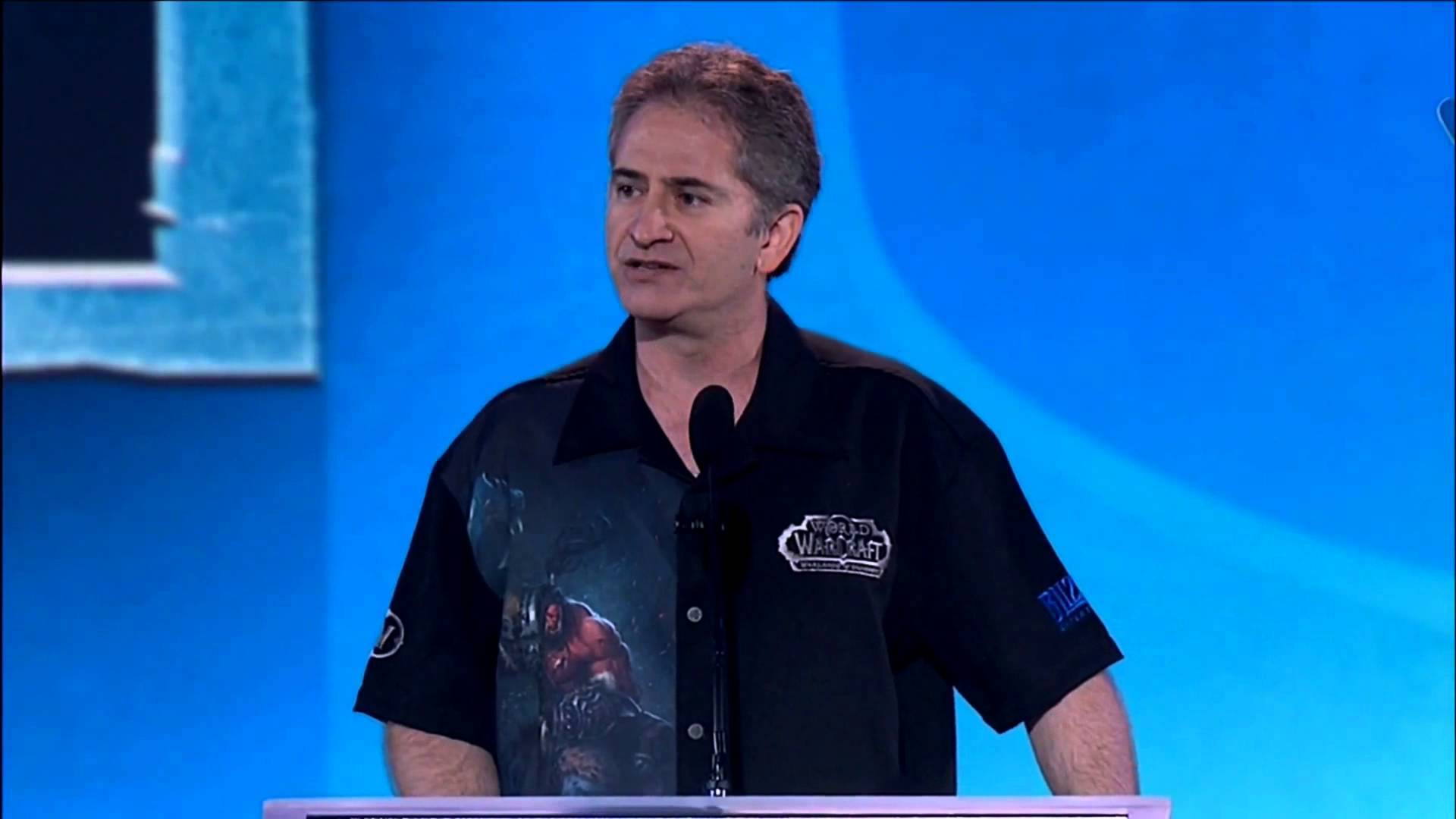 WoW Mike Morhaime CEO Blizzard