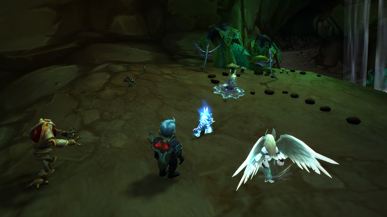 WoW Pet Battle Dungeon Combat