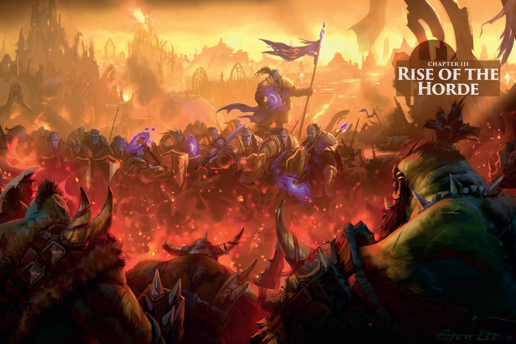 WoW Warcraft Chronicles Rise of the Horde