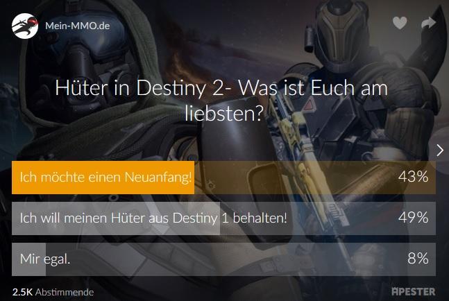 destiny-umfrage