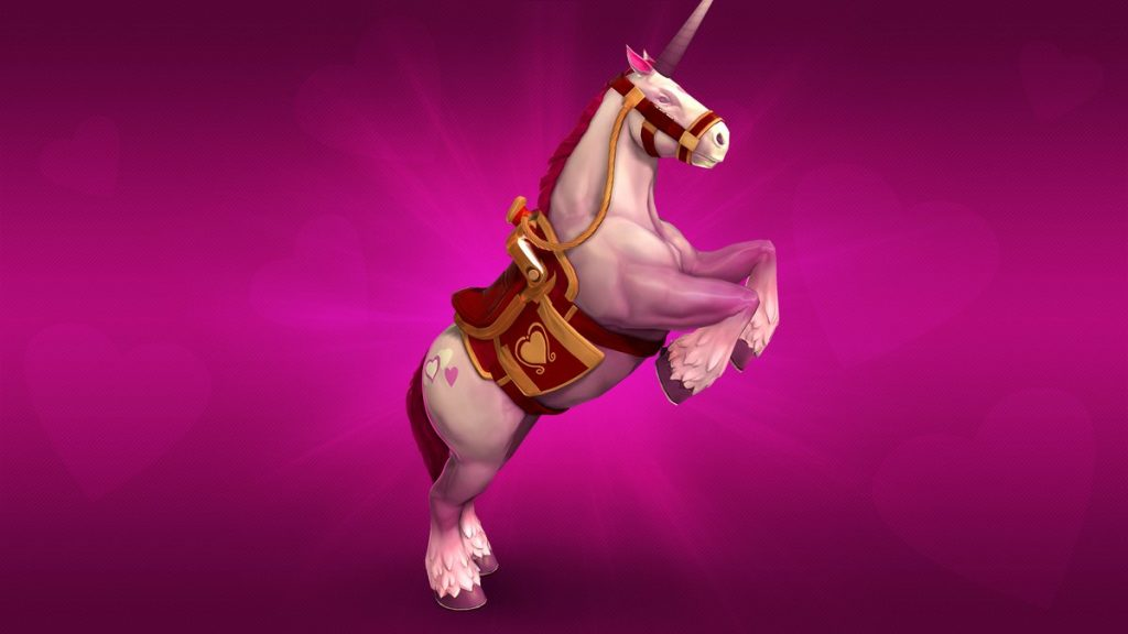 paladins unicorn mount
