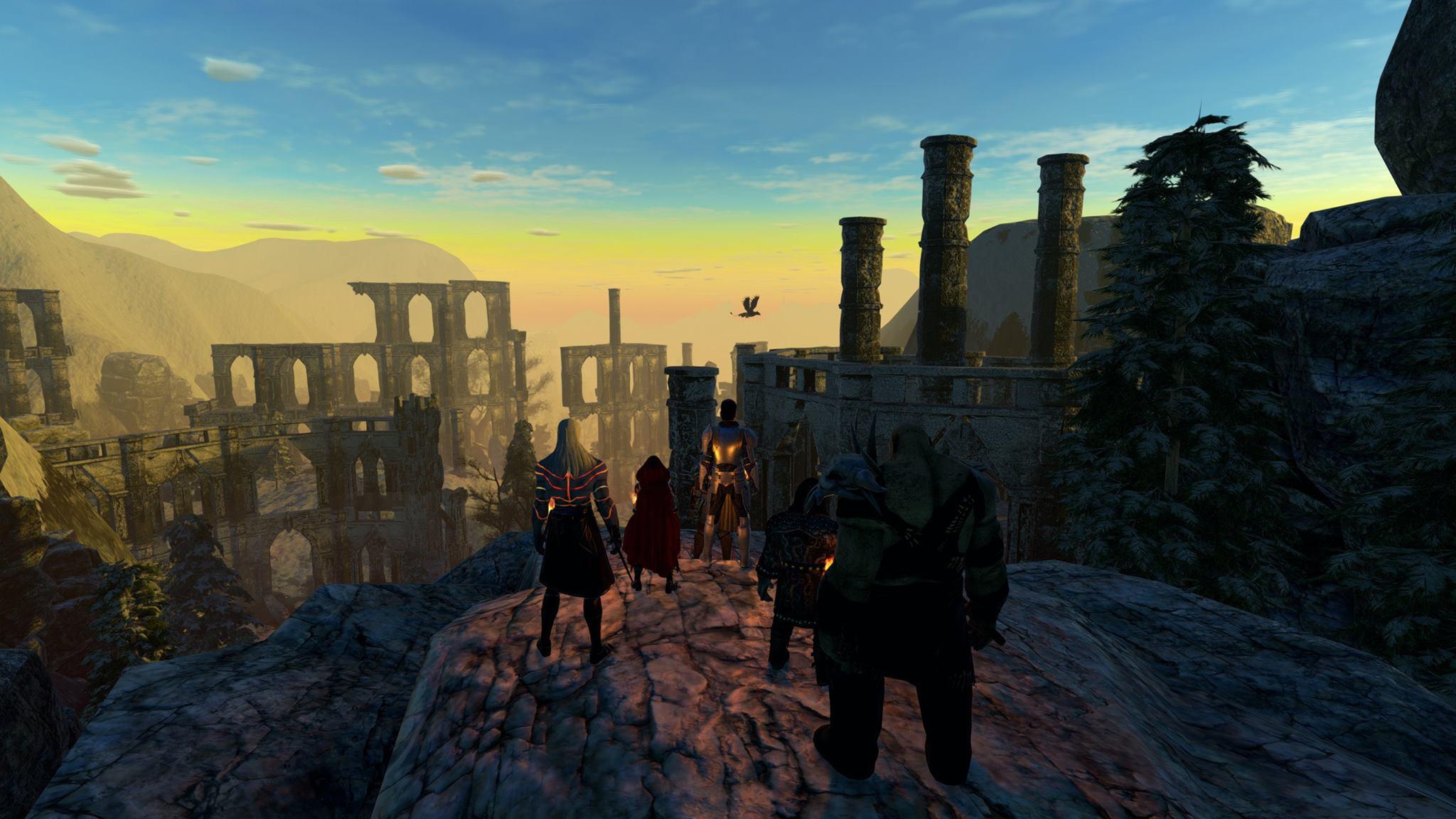 pantheon ruins