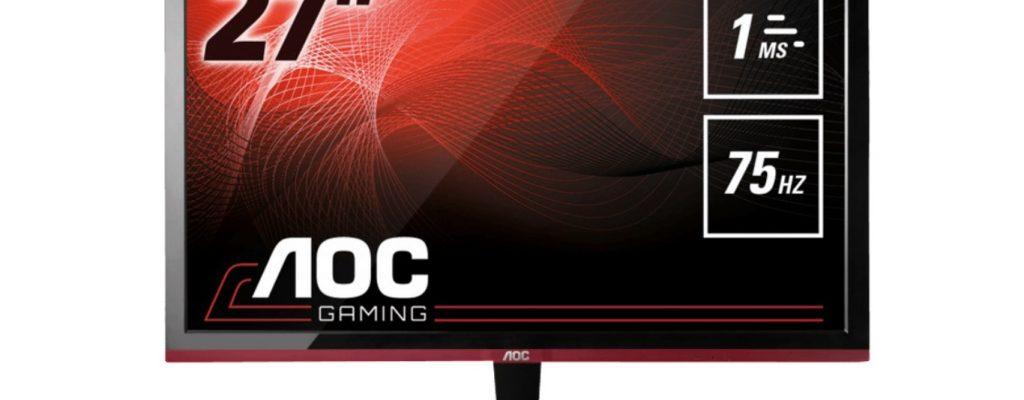 Amazon-Angebote am 23.3.: AOC 27 Zoll Monitor mit 75 Hz und Freesync