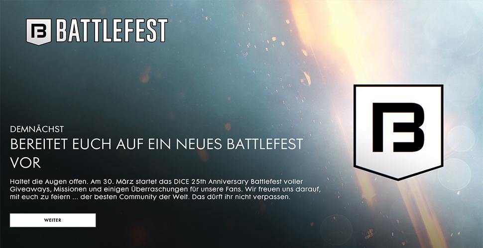 Battlefield 1 Battlefest Titel2