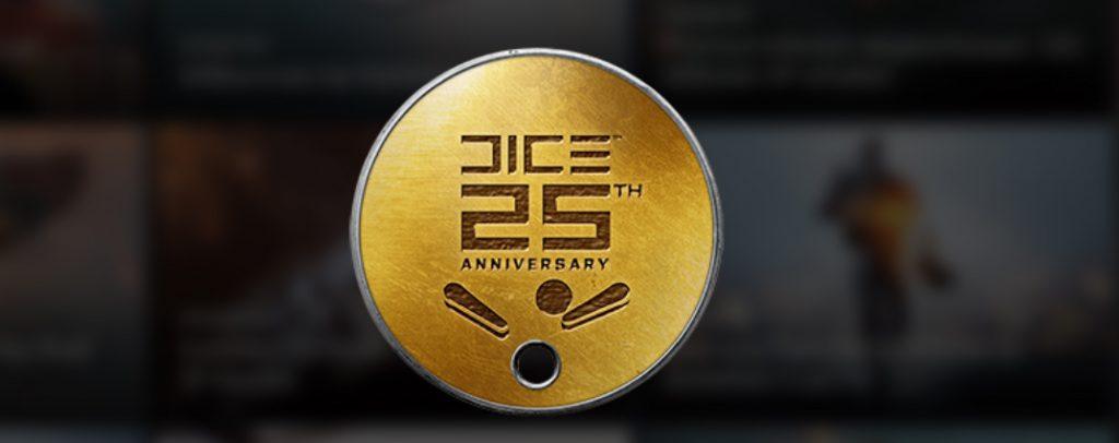 Battlefield 1 Marke 25. Geburtstag