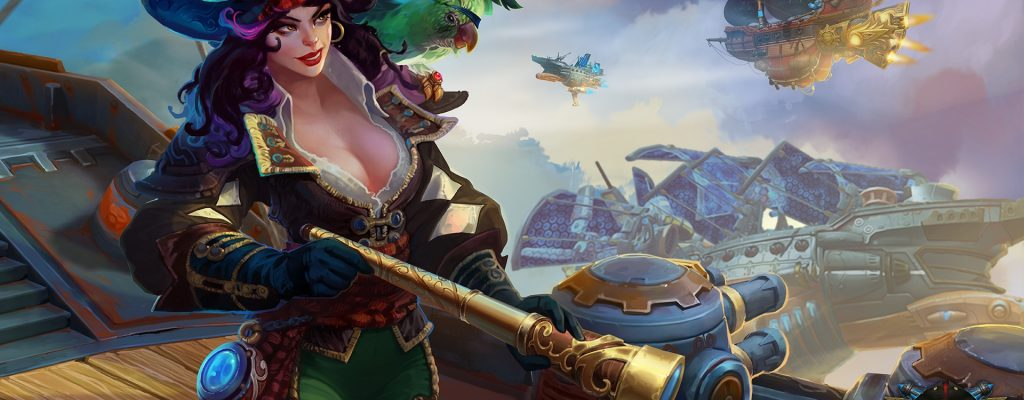 Cloud Pirates Release: Free2Play-Launch und Festungen noch im April
