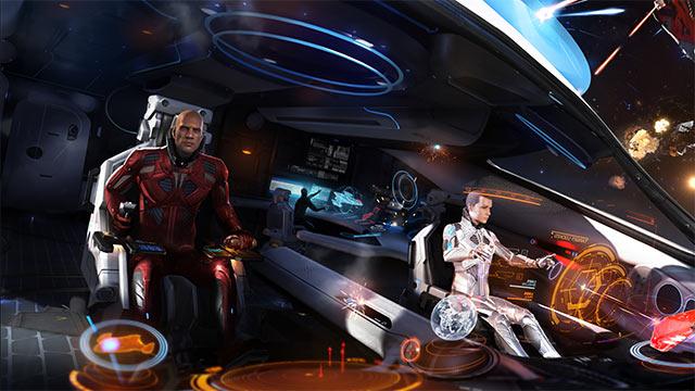Elite Dangerous: Spieler sitzt jetzt neben verstorbenem Schwager – dank VR