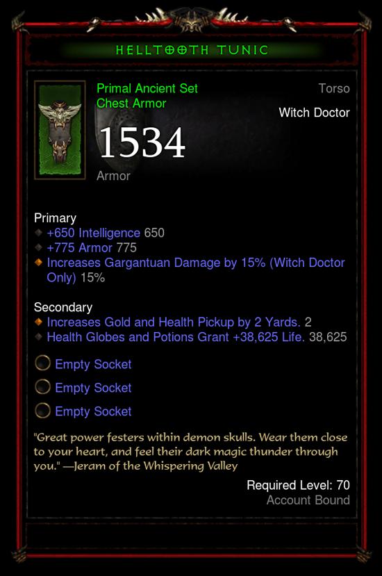 Diablo 3 Archaisch