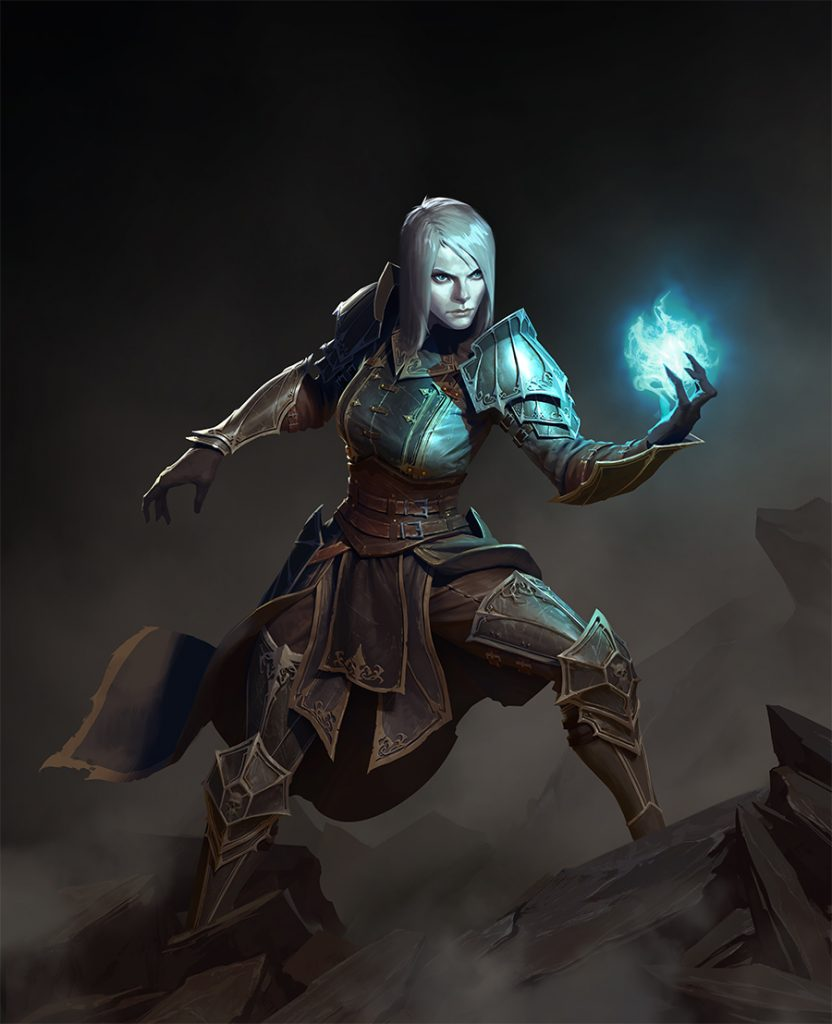 Diablo 3 Necromancer_female