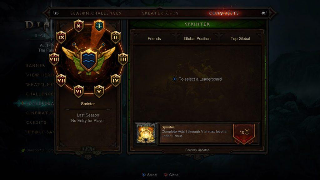 Diablo 3 Saisonreise Herausforderungen