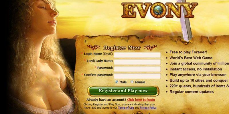 Evony warb mit Brüsten, wurde gehackt – 33 Millionen Accounts betroffen