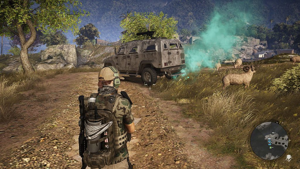 Ghost Recon Wildlands Änderungen Fahrzeugabwurf