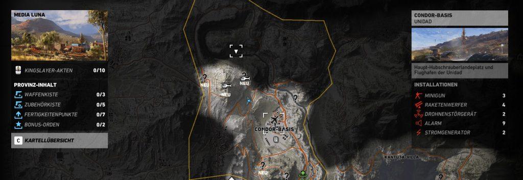 Ghost Recon Wildlands ACR Übersicht2