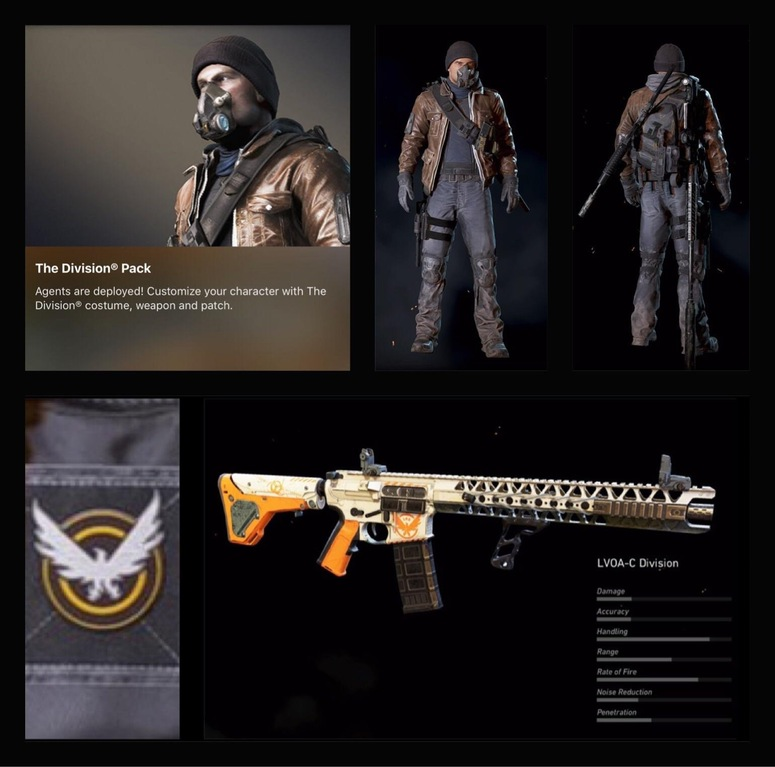 Ghost Recon Wildlands Division Pack