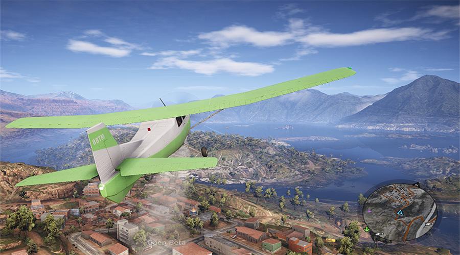 Ghost Recon Wildlands Flugzeug
