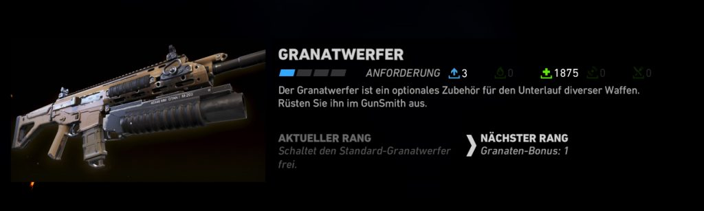 Ghost Recon Wildlands Granatwerfer