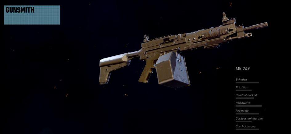 Ghost Recon Wildlands MK249