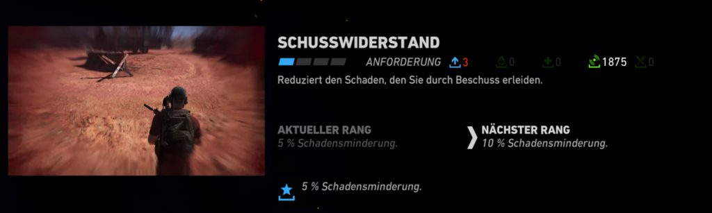 Ghost Recon Wildlands Schusswiderstand