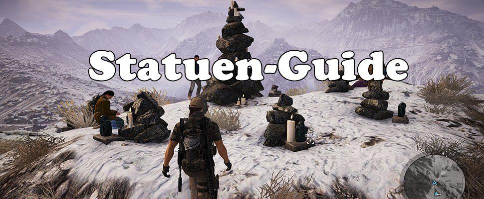 Ghost Recon Wildlands Guide: Fundorte der 8 Totem-Statuen