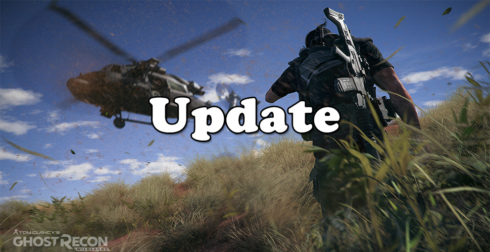 Ghost Recon Wildlands Update Titel