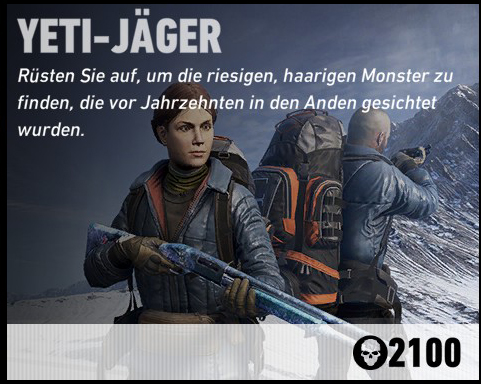 Ghost Recon Wildlands Yeti Jäger