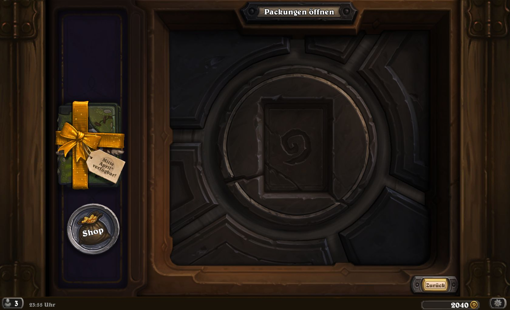 hearthstone wann ist der release von un 39 goro 1 packung. Black Bedroom Furniture Sets. Home Design Ideas