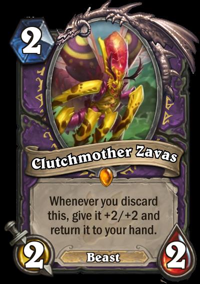 Hearthstone Ungoro Clutchmother Zavas