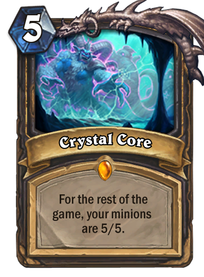 Hearthstone Ungoro Crystal Core
