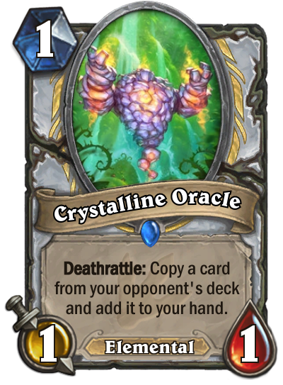Hearthstone Ungoro Crystalline Oracle