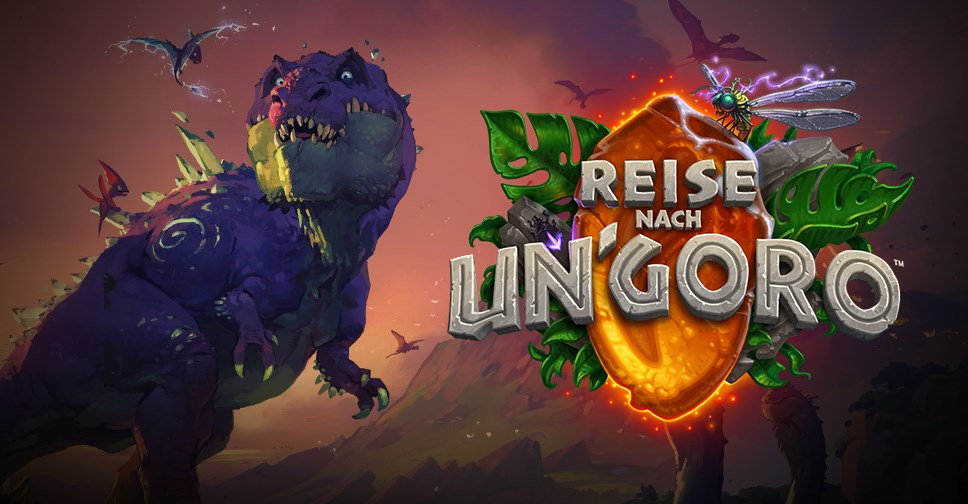 Hearthstone Ungoro Header