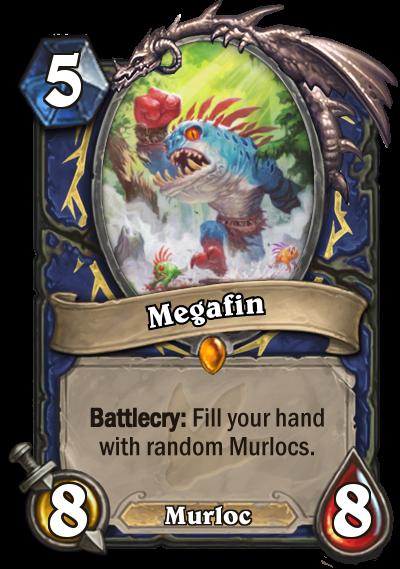 Hearthstone Ungoro Megafin