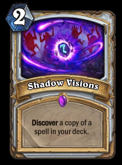 Hearthstone Ungoro Shadow Visions