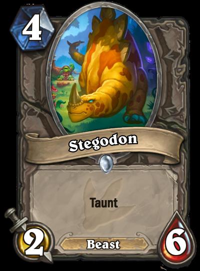 Hearthstone Ungoro Stegodon