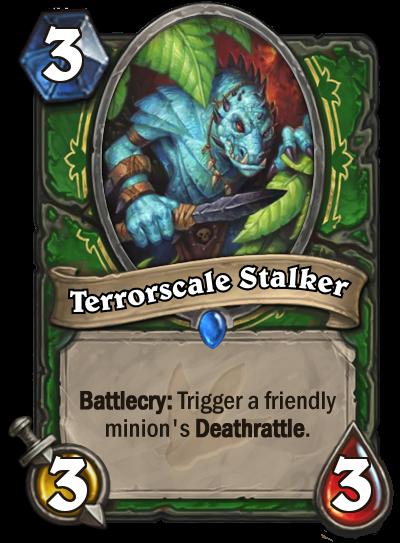 Hearthstone Ungoro Terrorscale Stalker
