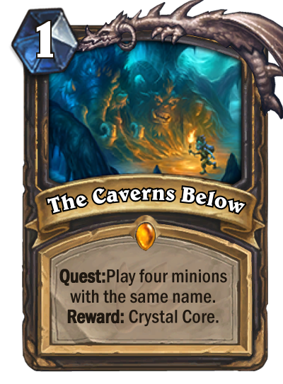 Hearthstone Ungoro The Caverns Below