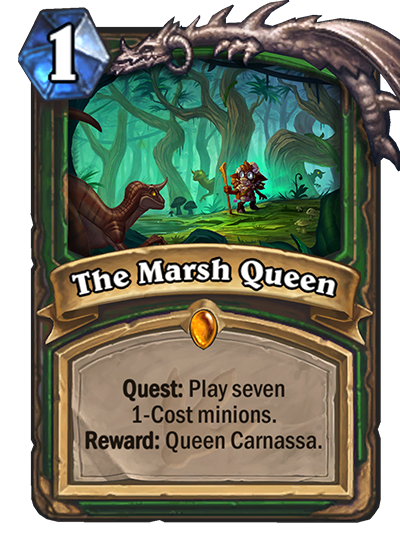 Hearthstone Ungoro The Marsh Queen