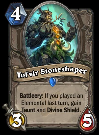 Hearthstone Ungoro Tolvir Stoneshaper