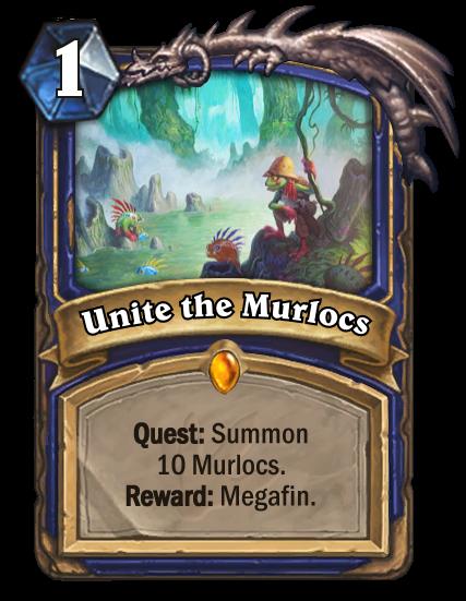 Hearthstone Ungoro Unite the Murlocs