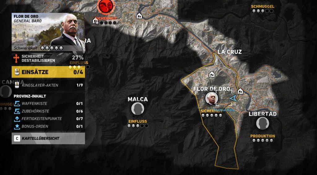 M4A1 Übersicht Karte 1