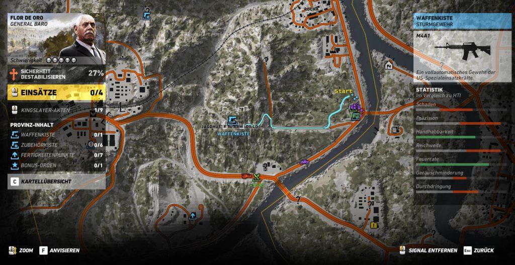 M4A1 Übersicht Karte 2